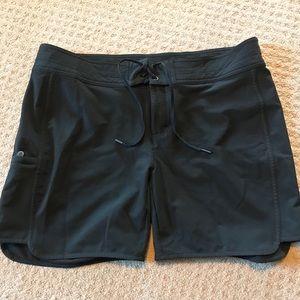 Athleta swim shorts size 14 black